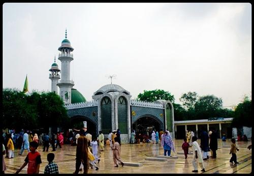 Veranda or Open Area leading to Bulleh Shah Shrine Entrance