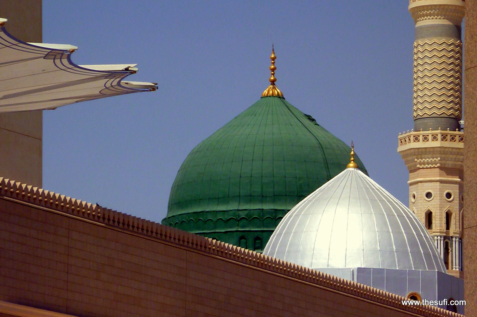Madina Munawara Masjid Nabawi Wallpaper Green Dome of Masjid-e-nabwi