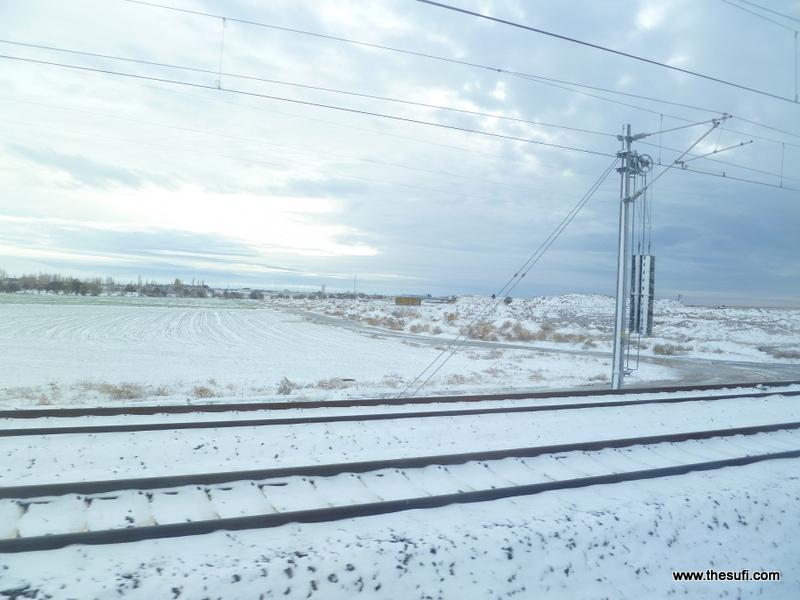 Train Journey: Istanbul to Konya