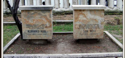 Allama Iqbal Grave at Konya, Turkey