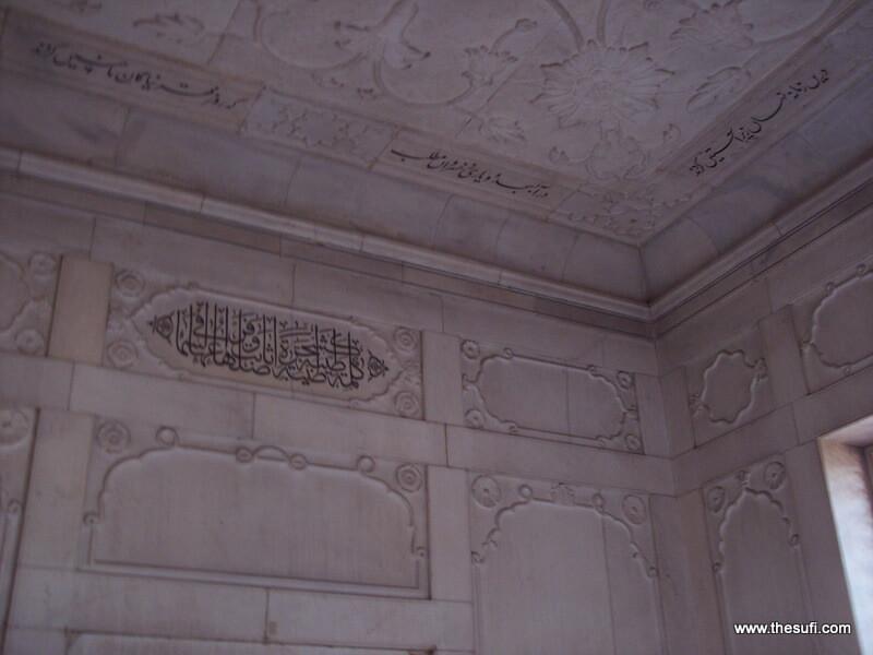 Interior of Allama Iqbal's mazar