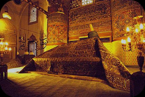 Mevlana Rumi Shrine Konya