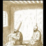 Dervish in Chilla [seclusion usually 40 days]