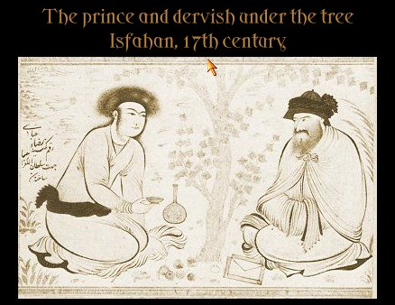 King and the Sufi Painting