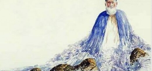 Sufi in Water