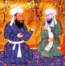 Sufi Mentor and protégé