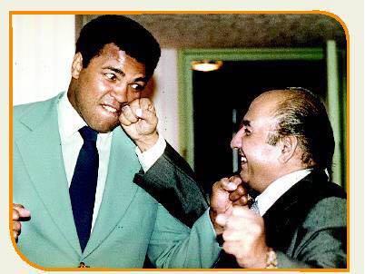 Muhammad Rafi and Muhammad Ali