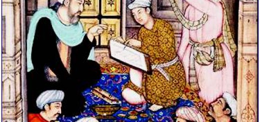 Sufi teacher Miniature