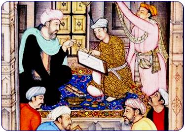 Sufi teacher Miniature
