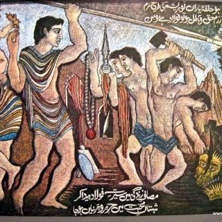 Ho Halqa Yaaran to Resham Iqbal Verse Sadequain