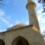 Minaret of Hala Sultan, the nurse of Prophet