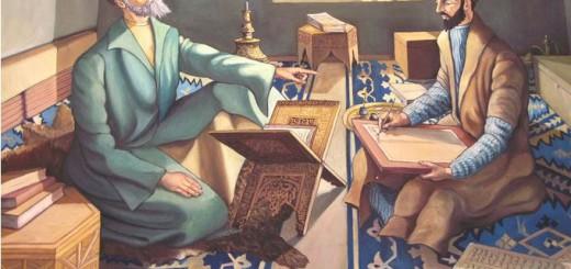 Sufi Student and Teacher