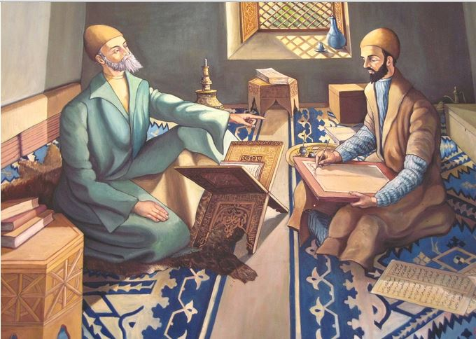 Sufi Student and Teacher