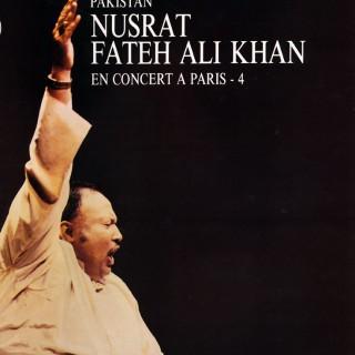 Ustad Nusrat Fateh Ali Khan Qawwal - 'En Concert à Paris'