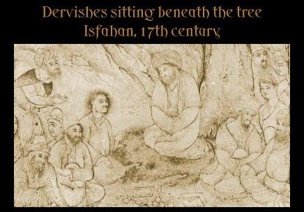 Dervishes under a tree