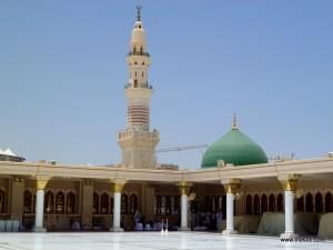Roof top of Madjid-e-Nabwi, Madina Munawara