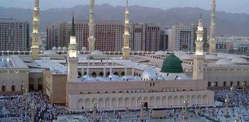 madina munawara wide photo