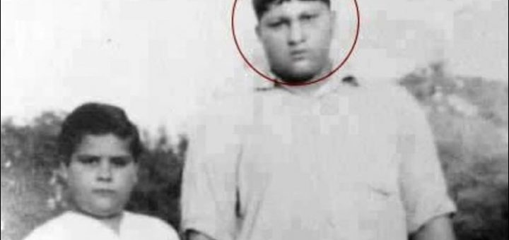 nusrat fateh ali khan childhood photo