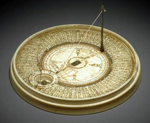 qibla finder antique 1580 circa 3