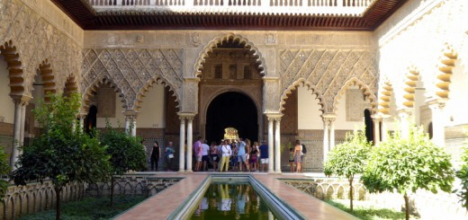 Alcázar of Seville, Spain