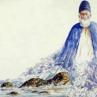 Sufi in Water