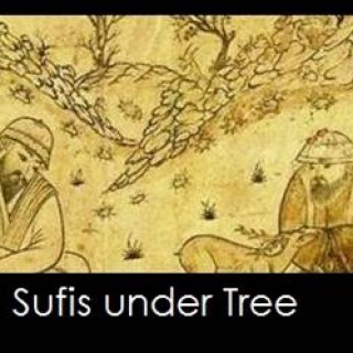 Sufi Art: Sufi Under Tree